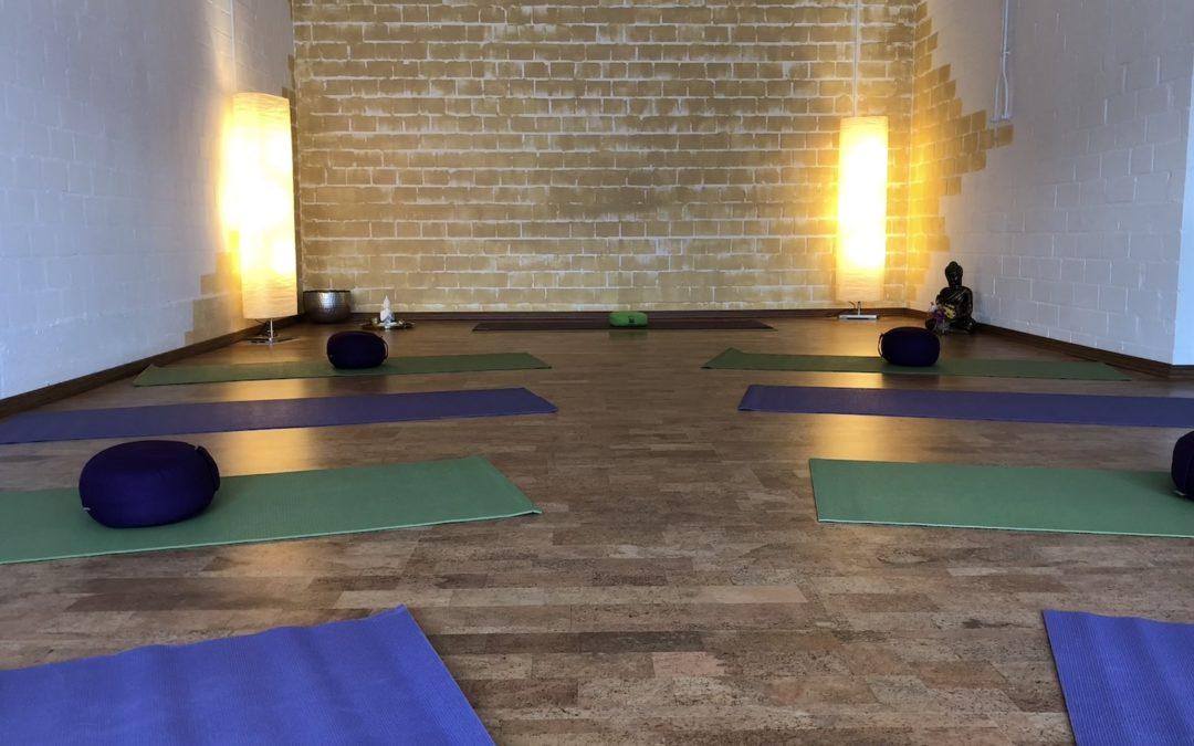 Herzlich Willkommen in meinem Yogaraum